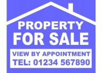 For Sale Sign Board