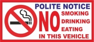 2 xTaxi Minicab Private Hire Vehicle No Smoking Eating