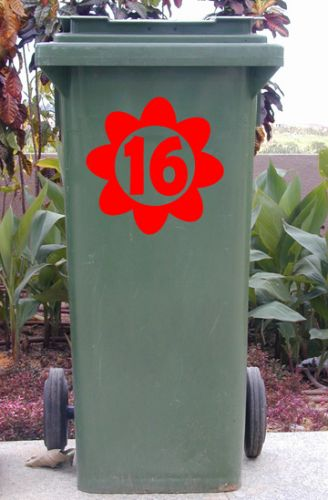 Wheelie Bin Flower Sticker1